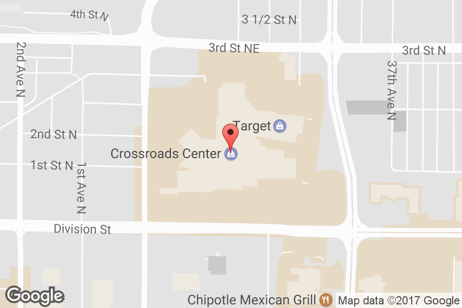 Map of Crossroads Center - Click to view in Google Maps